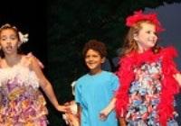 Children in a performance